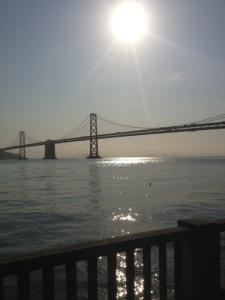Amazing views on walks to work